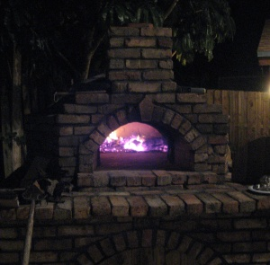 Pizza oven night