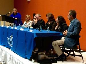 Oline Cogdill, Lisa Scottoline, Douglass Seaver, John Connell, Alison McMahan, Sandra Block, Stu Strumwasser