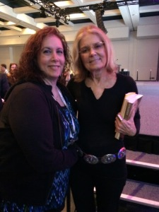 Gloria Steinem & Stacy Alesi 0615