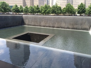 reflecting pool ground zero