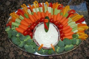 turkey-vegetable-platter